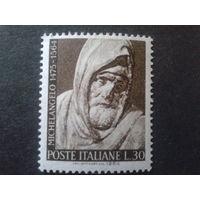 Италия 1964 скульптура работы Микельанджело