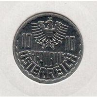 РЕСПУБЛИКА АВСТРИЯ 10 ГРОШЕЙ 1996 UNC. В ХОЛДЕРЕ