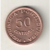 Гвинея-Биссау 50 сентаво 1952