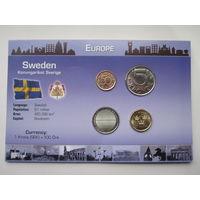 Швеция, набор монет