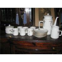 Сервиз кофе  фарфор Богемия не был в употреблении