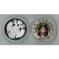 Монетовидный жетон  Колли
