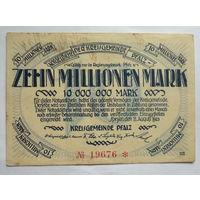 Германия. 10 000 000 марок 1923г.