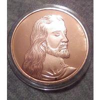 Сувенирная монета Иисус