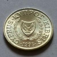 1 цент, Кипр 1998 г., AU
