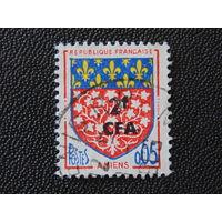 Французский остров Реюньон 1963 г.