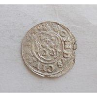 Шиллинг 1640 Рига Кристина Августа Ваза Прибалтийские владения Швеции