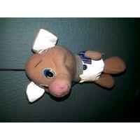 Игрушка-брелок свинка