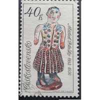 Чехословакия 1978 керамика Кукла (АНД
