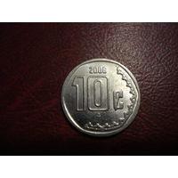 10 сентаво 2006 года Мексика