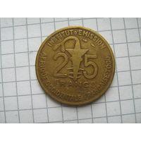 Того 25 франков 1953г.