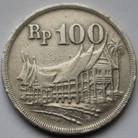 Индонезия, 100 рупий 1973 г (Лес для процветания)