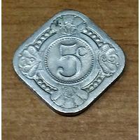 Нидерландские Антильские острова 5 центов, 1965 2-12-16