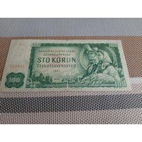 Чехословакия 100 крон 1961