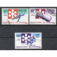 Спорт Сенегал 1972 год серия из 3-х марок