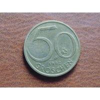 Австрия, 50 грошей 1982 год.