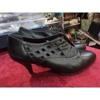 Не пользованная девичья ретро-обувь времен СССР. Туфли, 36 размер