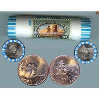 США 5 центов 2005 D ОКЕАН 40шт БАНКОВСКАЯ АЦ UNC