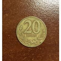Албания, 20 лек 2000