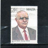 Мальта.Ми-788.Сэр Луиджи Прециози (офтальмолог).Серия: Мальтийские Личности (1988)