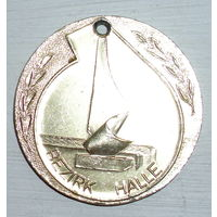 Медаль Bezirk Halle Leistungsvergleich D.Kreisi