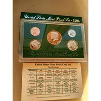 США.Годовой пруф набор 1996г.