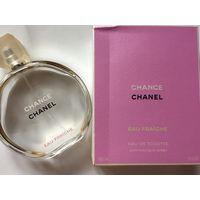 Флакон пустой и коробочка от туалетной воды Chanel chance 150 мл оригинал