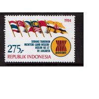 Индонезия-1984,(Мих.1139)  ** ,