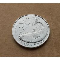 Острова Кука, 50 центов 1974 г.