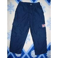 Тёплые брюки деми 98-104