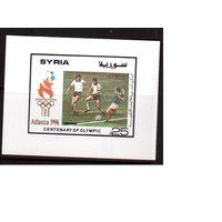 Сирия-1996,(Мих.Бл.84) **  , Спорт, ОИ-1996