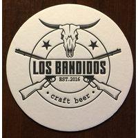 Подставка под пиво Los Bandidos No 1 /Россия/