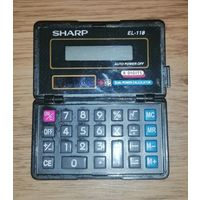 """Калькулятор """"SHARP EL-118"""""""