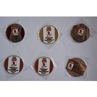 Медальоны чемпионата мира по хоккею в Минске 2014