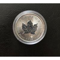 Канада 5 долларов 2014, серебро 0.999