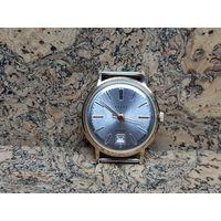 Часы Полет(Poljot de luxe),позолота au20,автоподзавод,редчайшие.Старт с рубля.