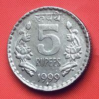 21-24 Индия, 5 рупий 1999 г. (Бомбей)