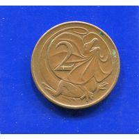 Австралия 2 цента 1966