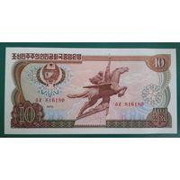 Северная Корея. 10 вон  1978 года, UNC