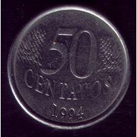 50 сентаво 1994 год Бразилия