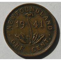 Ньюфаундленд, 1 Цент 1941 (14)