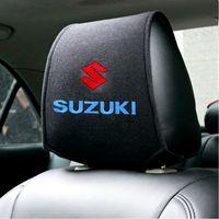 Чехлы на подголовники к Suzuki. 2 штуки.