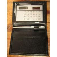 Визитница с калькулятором и ручкой0