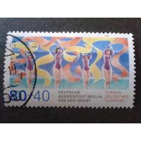 Берлин 1987 художественная гимнастика Михель-2,0 евро гаш.