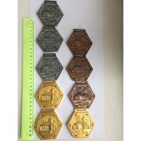 Коллекция медалей минского полумарафона 2017. Цена за 1 медаль!