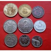 9 монеток - 9 стран. #52 Старт с 10 копеек.