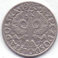Польша, 20 грошей 1923 года.