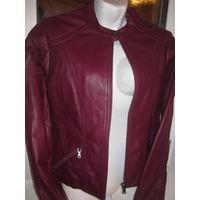 Фирменная итальянская куртка из кожи ягнёнка