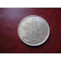 20 эскудо 1966 год Португалия (Мост Салазара) серебро