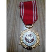 Медаль 20 лет выслуги в ВС. Польша